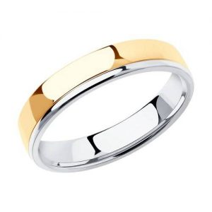 110202 Кольцо обручальное 585