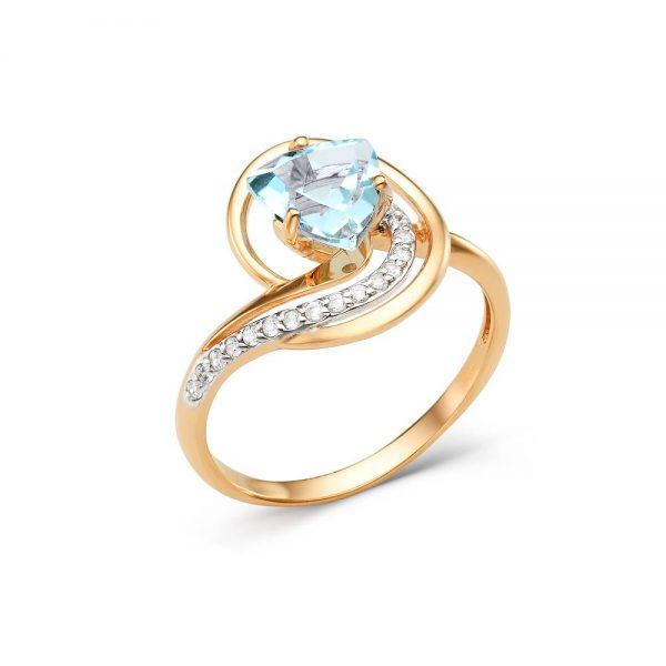 Кольцо из золота возможные камни (аметист,топаз)