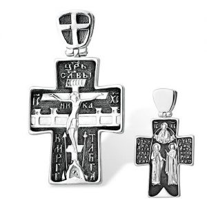 1300010687 Крест 925