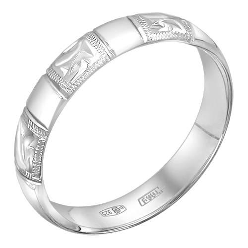 92-01-0048-00 Кольцо обручальное 925